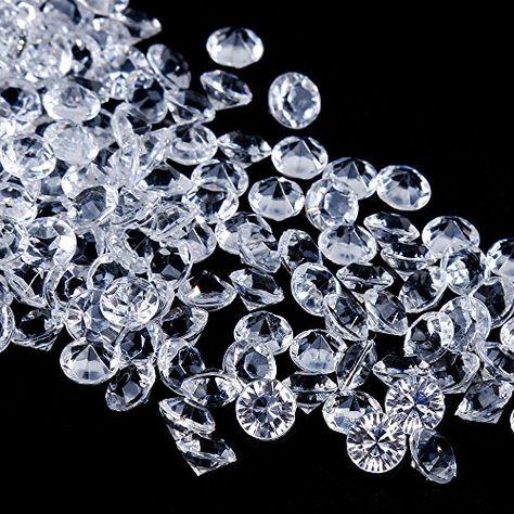 1000 Edelsteine Diamanten Dekosteine Streudeko Tischdeko Kristalle Hochzeit