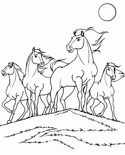 spirit ausmalbilder  malvorlagen tiere ausmalbilder und