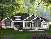 Plan 89899AH Craftsman Ranch With Walkout Basement Style HousesCraftsman