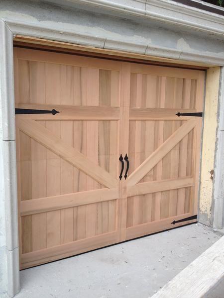 Gabriel Barn Style Custom Wood Garage Door Gabriel Barn Style Custom Wood Garage Door Lux In 2020 Barn Style Garage Doors Garage Door Design Wood Garage Doors
