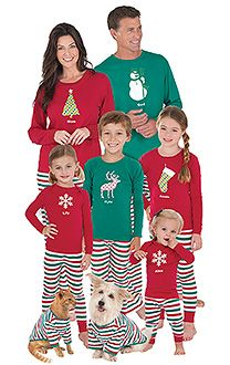 Red Dropseat Matching Family Pajamas - PajamaGram | Holiday Family ...