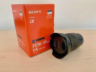 Camera Deals Sony Zeiss Vario Tessar T 16 35mm F 4 Fe Za Oss Lens Zeiss Camera Deals Oss