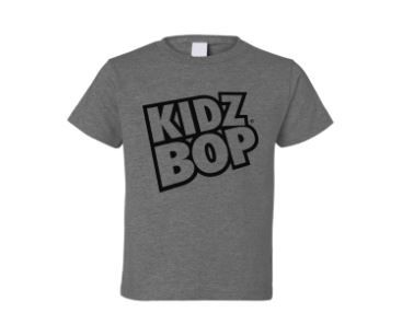 KIDZ BOP Grey Logo Adult Tee