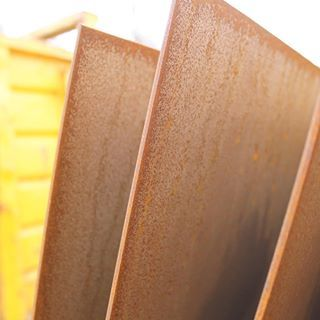 Corten Steel Sheet Also Known As Weatheringsteel Is Instantly Identifiable Thanks To Its Rich Bright Orange Tone Steel Sheet Weathering Steel Corten Steel