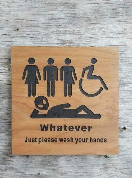 New Bath Room Kids Unisex Ideas Unisex Bathroom Sign Bathroom Signs All Gender Restroom