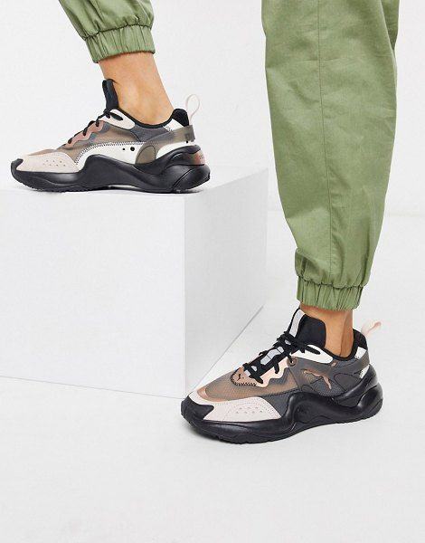Puma Rise Sneakers In Black in 2020 | Sneakers, Shoes ...
