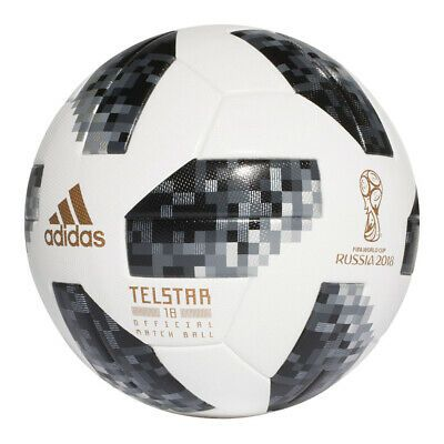 Details About Adidas Telstar Soccer Ball Russia Worldcup 2018 Size 5 In 2020 Soccer World Cup 2018 Soccer Ball Fifa World Cup