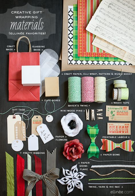 Gift Wrap Materials