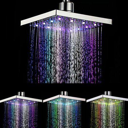 Home In 2020 Led Shower Head Shower Heads Rain Shower