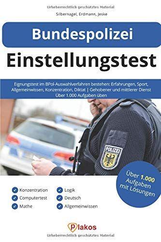 Bundespolizei Einstellungstest Eignungstest Im Bpol