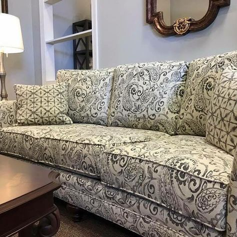 Relax On Our Beautiful North Carolina Made 8 Way Hand Tied Sofas