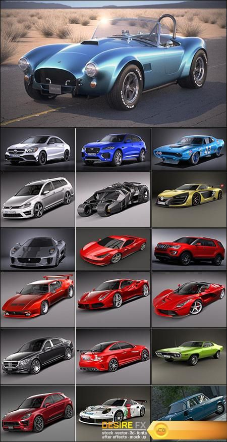 Collection Of Nice Car Models 3d Models Car Model Cool Cars Car