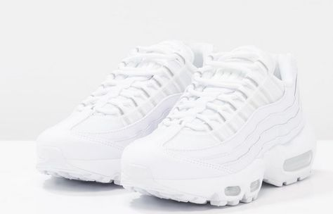 hot sale online a2c75 37dac Nike Sportswear AIR MAX 95 Baskets basses white pure platinum - Zalando