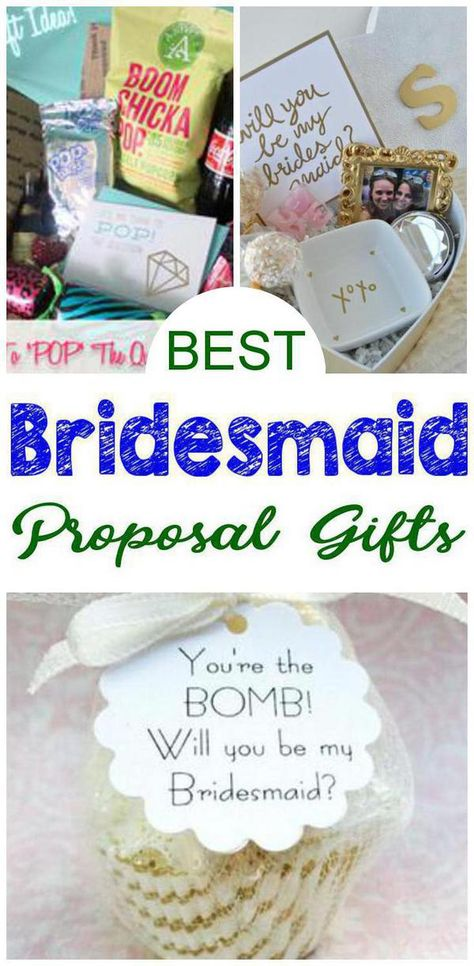 Bridesmaid Proposal Gifts! Find the best bridesmaid proposal gift ideas! From DIY ideas to box ideas to card ideas to kits to affordable to cheap to inexpensive you can find creative, unique, simple, easy & fun bridesmaid proposals. Great gifts for your feature bridal party - can be used as maid of honor proposals, junior bridesmaids and flower girl proposals too. Give at your engagement party or get together with your bride tribe. Get the best Bridesmaid Proposal gifts now! 5 is my favorite :)