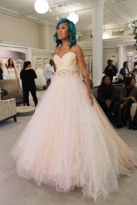 Image Result For Lazaro Gown Say Yes To The Dress Dresses Wedding Dresses Blush Wedding Dresses Kleinfeld