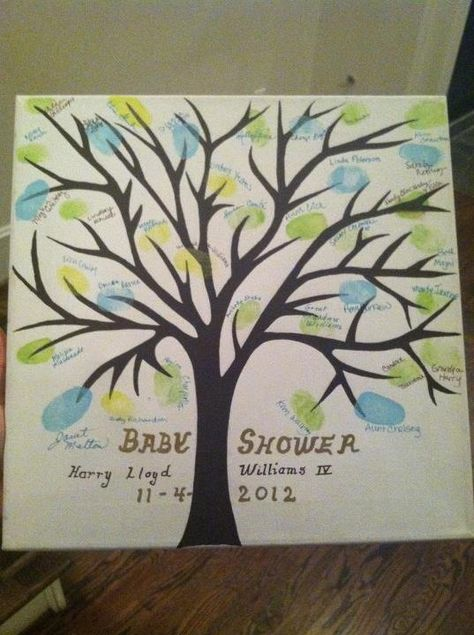 Baby shower sign in tree. Everyone that comes to the shower signs their name next to a leaf. So cute!!! Thanks Lauren for letting me steal.