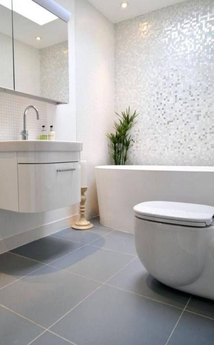 Badezimmer Fliesen Ideen Grun Grey Bathroom Floor Grey Bathroom