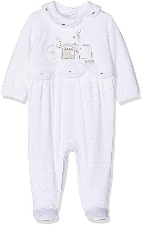 new styles 20f11 b47ae Chicco Baby Girls' Tutina Con Apertura Interno Gamba ...