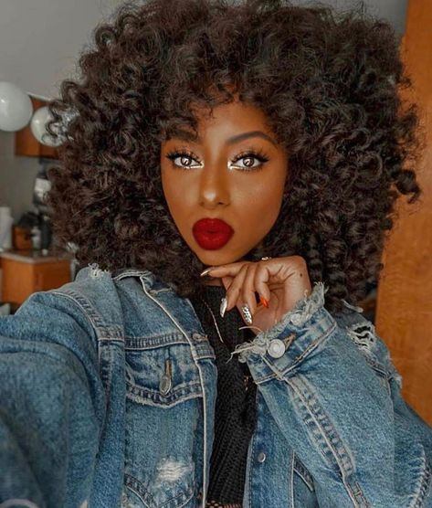 Arabella Human Hair Wigs Kinky Curly Inch Lace Frontal Wig Density for black women Big Curly Hair, Kinky Curly Wigs, Curly Hair Styles, Natural Hair Styles, Natural Black Hair, Curly Braids, Short Human Hair Wigs, Box Braids, Curly Bob