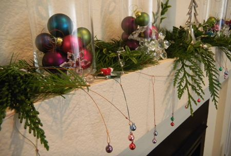 Homemade Holidays - Decorating on a Budget by Jamie Hogsett