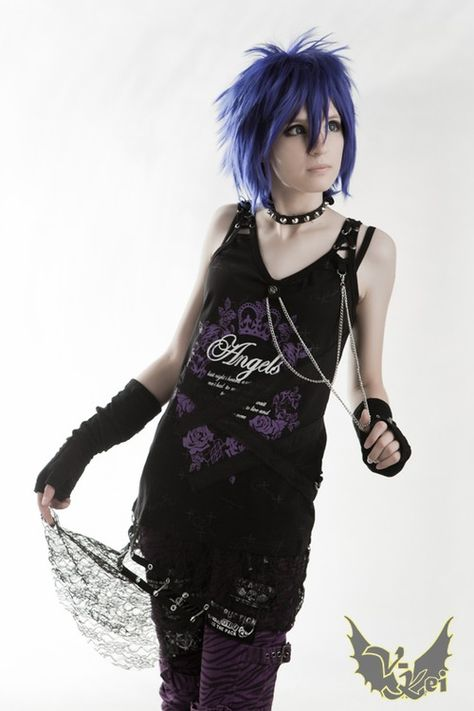 VISUAL KEI, love this hair!!