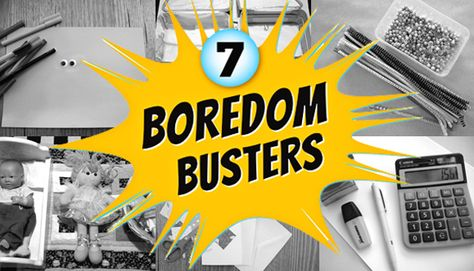 Post image for A Week's Worth of Boredom Busters: Turn Off the TV and Play!