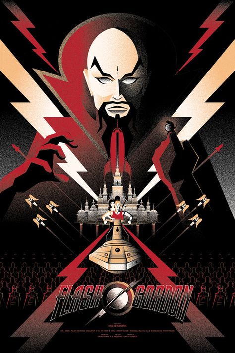 Flash Gordon (1980) - poster by Bruce Yan