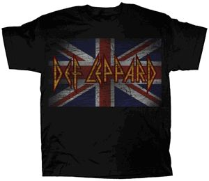 DEF LEPPARD YOUNG UNION JACK YOUTH T-SHIRT