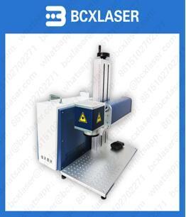 Mini standard-sized fiber laser marking machines used in laser