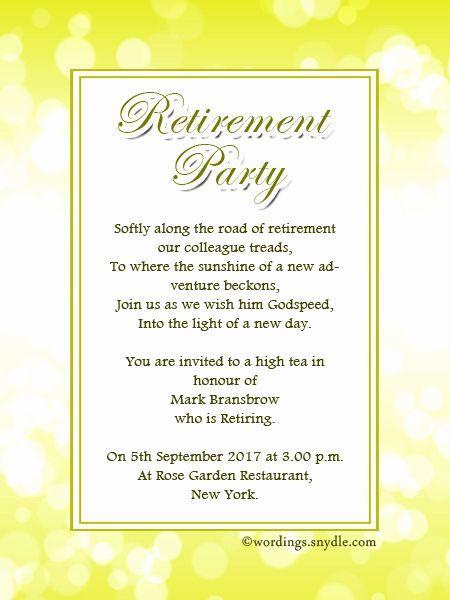Sample Party Invitation Wording Luxury Retirement Party Invitation Retirement Party Invitations Retirement Party Invitation Wording Retirement Invitation Card
