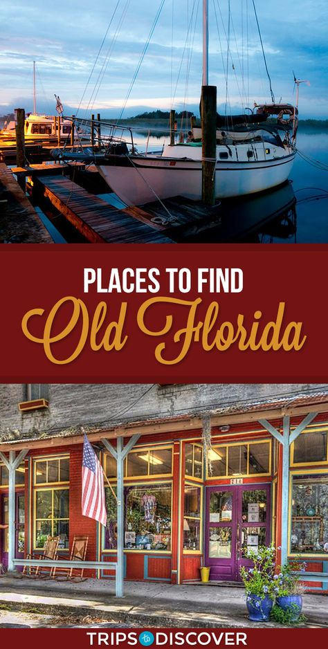 Top 10 Places Where You Can Still Find Old Florida - Travel Florida Vacation Spots, Places In Florida, Visit Florida, Florida Living, Florida Travel, Vacation Places, Travel Usa, Places To Travel, Places To Go