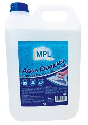 Agua Destilada Mpl 5 L Transparente En 2020 Agua Destilada Agua