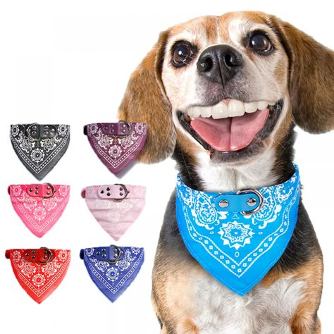 Cuello Bufanda para Perros Ajustable Pet Triangular Bandana Perro Gato Corbata Corbata Rosa