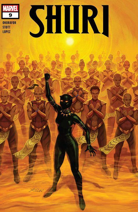 Shuri (2018-2019) #9 - Comics by comiXology