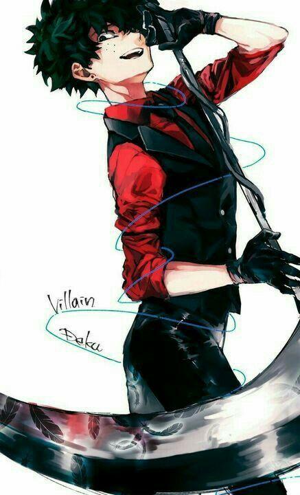 Villain Deku Gambar Anime Gadis Animasi Animasi