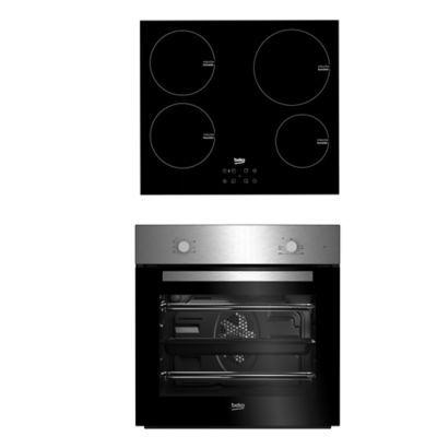 Fan Oven & Four Zone Ceramic Hob Pack