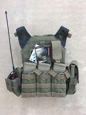 FLYYE JPC Swift Plate Carrier Vest 1000D Cordura Black