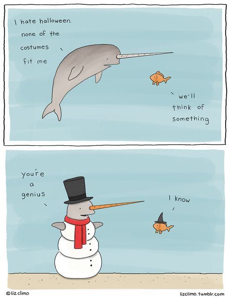 Someone who loves you may be able to see what you could become! Liz Climo comics