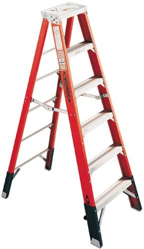 Cheap Werner 7410 375 Pound Duty Rating Type Iaa Fiberglass Stepladder 10 Foot Fiberglass Bathroom Exhaust Fan Telescopic Ladder