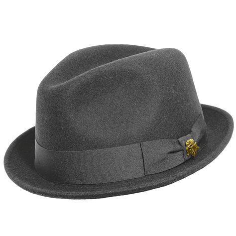 562977aa7cea74 Stetson Inwood Fur Felt Fedora in 2019 | Stetson Hats | Hats, 1940s hats,  Fedora hat