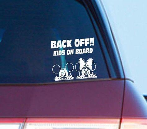 Baby On Board Bumper Sticker Auto Decal Car Truck RV SUV Safety Sign Window