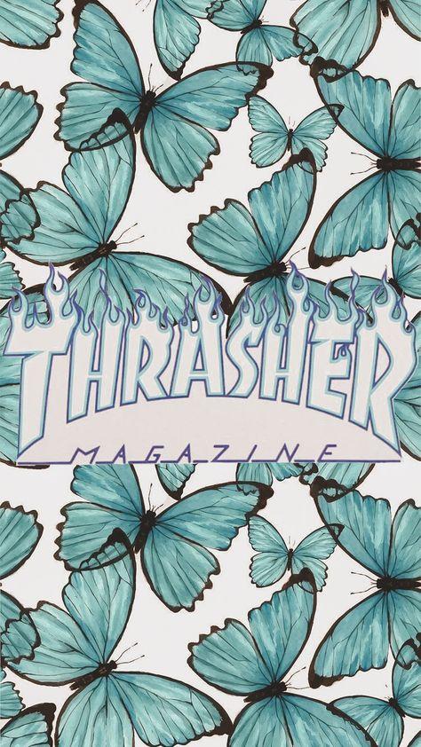 Thrasher Butterfly Wallpaper