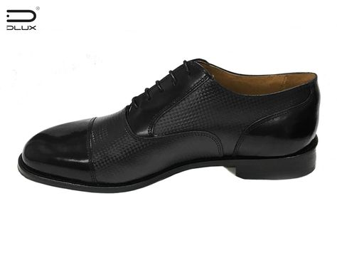 Luxury Carbon Fiber Products Oxford Leather Shoes and Carbon Fiber Design