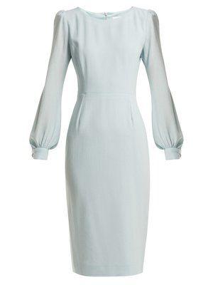 Harper crepe dress by Goat