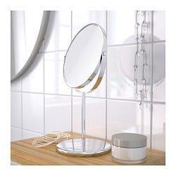 Trensum Miroir Acier Inoxydable Ikea Miroir Grossissant Miroir Miroirs En Verre