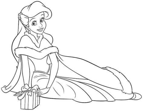 Coloriage Princesse Noel Imprimer Gratuit.Coloriage De Noel A Imprimer Gratuit 40 Dessins Que Vos