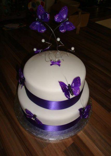Super Wedding Cakes Purple Butterflies Flower 47 Ideas Wedding