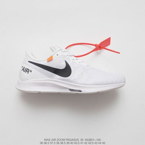 53e245e66f9 Fsr Creative Bespoke Off-White X Nike Air Zoom Pegasus 35 Lunarepic Unisex  Deadstock Breathable