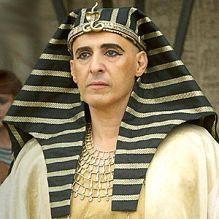 John Turturro as Seti I Pharaoh of Egypt