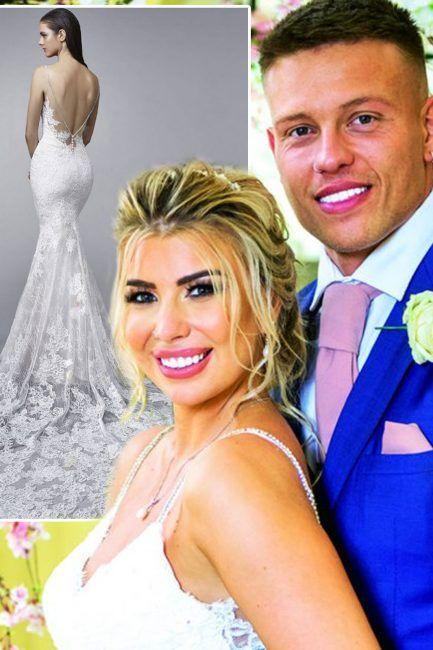 Olivia Buckland Wedding Dress Love Island Star S Bridal Dress
